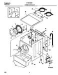 Diagram for 03 - Cabinet,door & Top