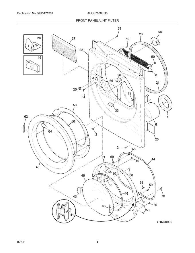 Diagram for AEQB7000EG0