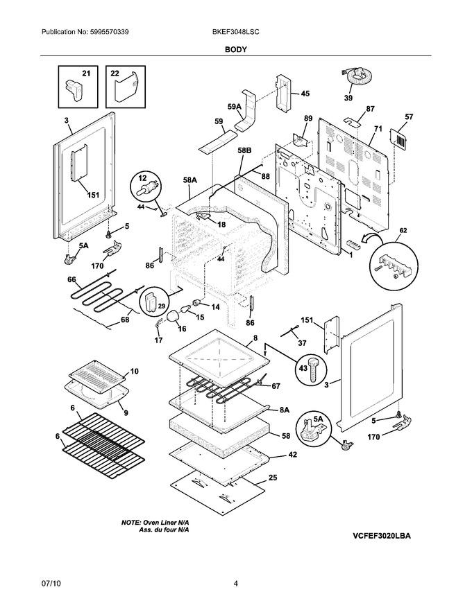 Diagram for BKEF3048LSC