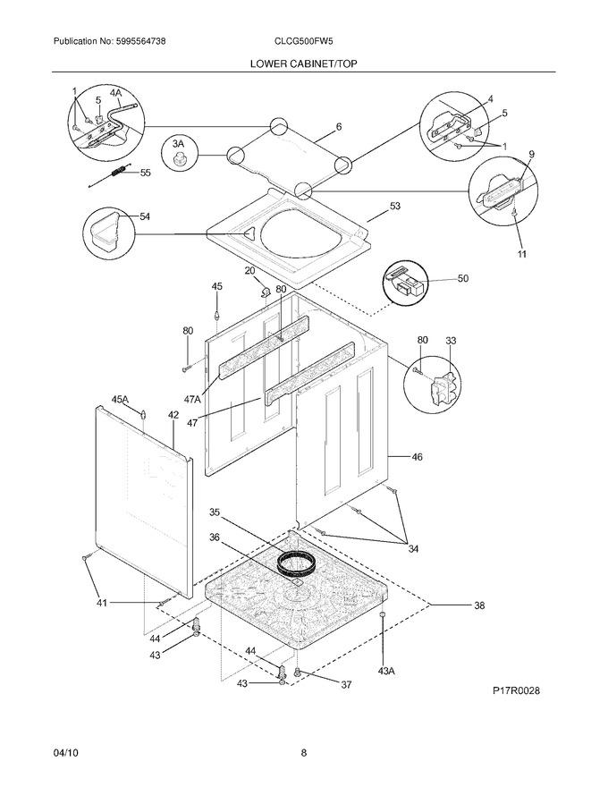 Diagram for CLCG500FW5