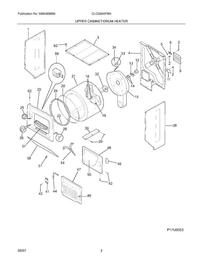 Diagram for CLCG900FW0