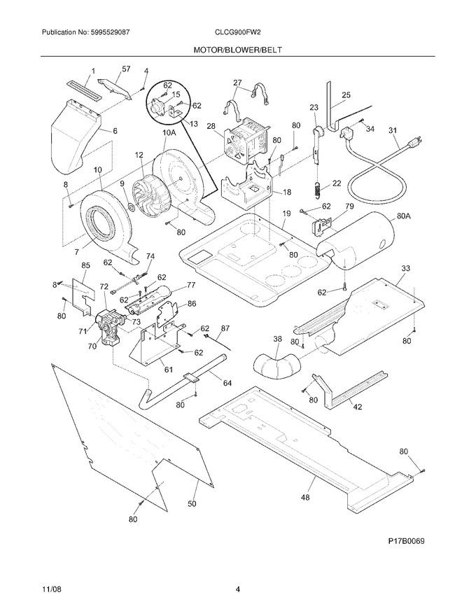 Diagram for CLCG900FW2