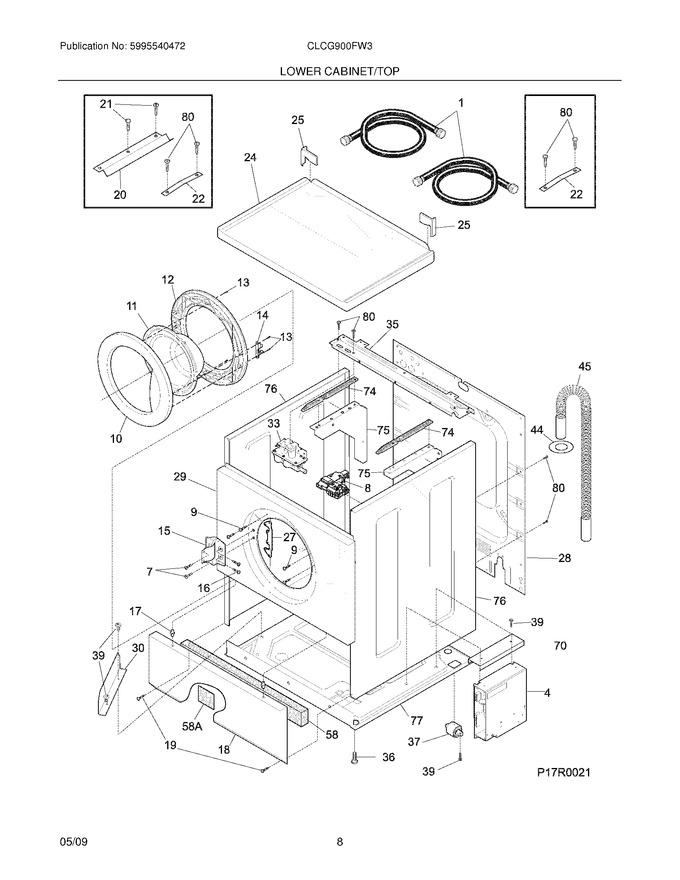 Diagram for CLCG900FW3