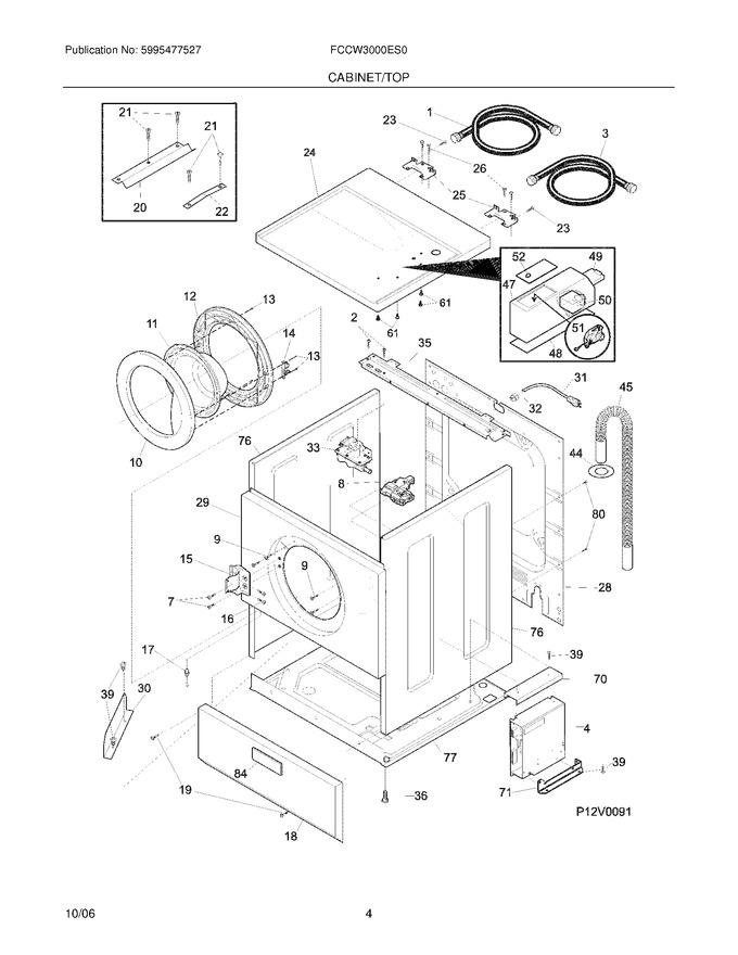 Diagram for FCCW3000ES0