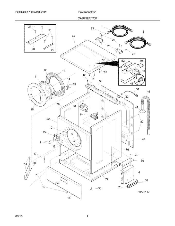 Diagram for FCCW3000FS4