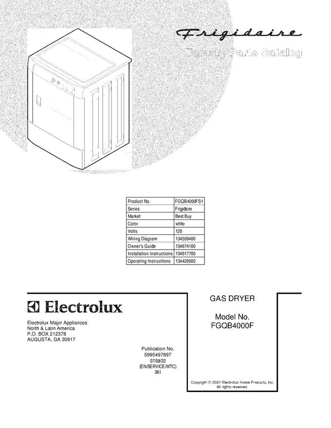 Diagram for FGQB4000FS1