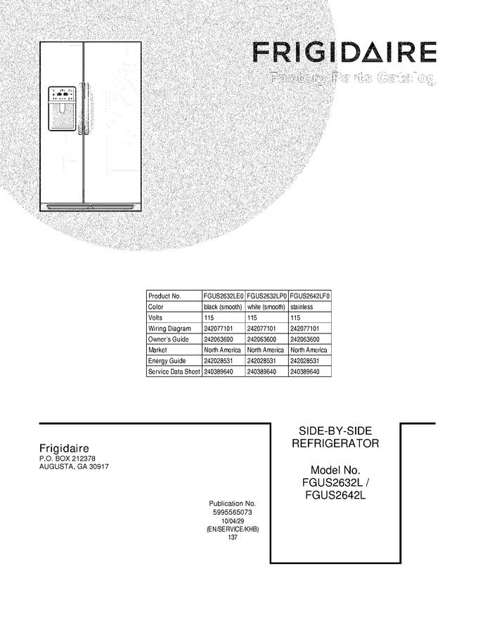 Diagram for FGUS2642LF0
