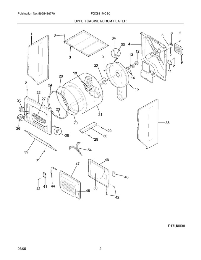 Diagram for FGX831MCS0