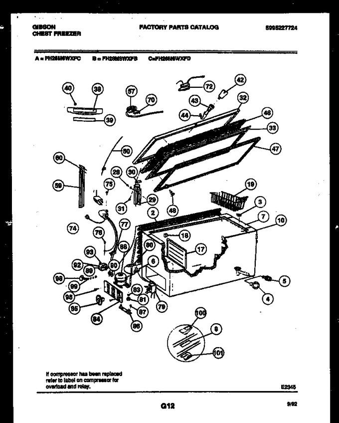 Diagram for FH26M6WXFD