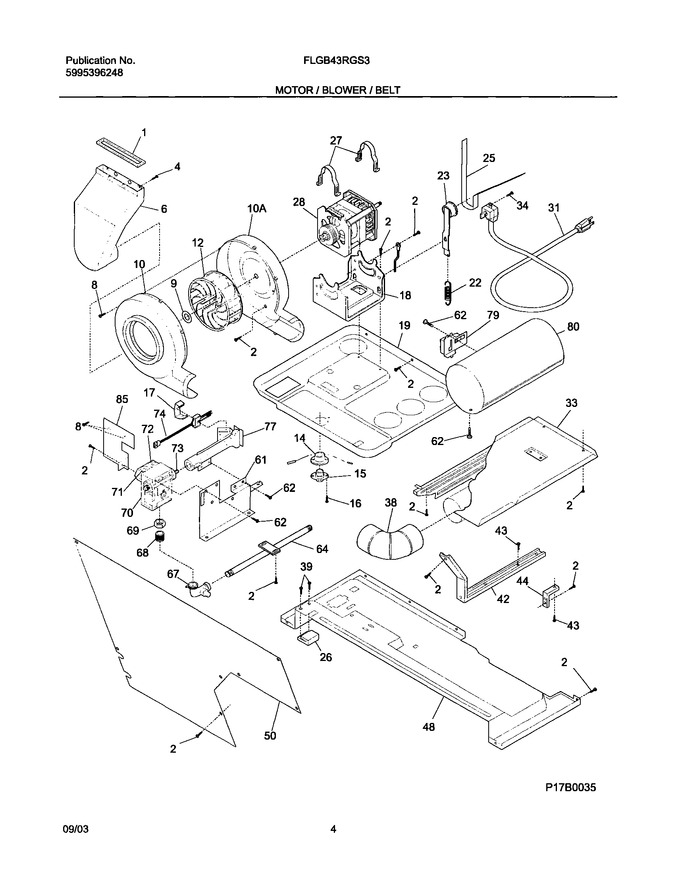 Diagram for FLGB43RGS3