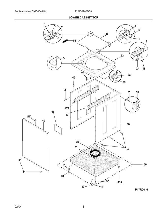 Diagram for FLGB8200DS0