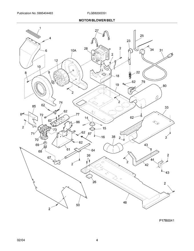 Diagram for FLGB8200DS1