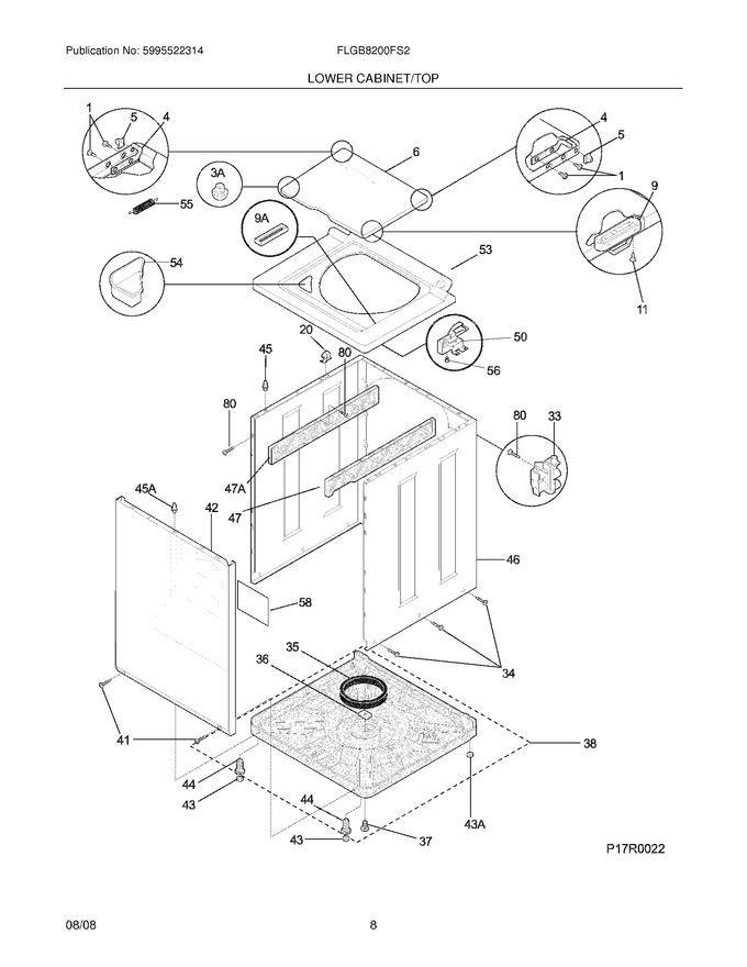 Diagram for FLGB8200FS2
