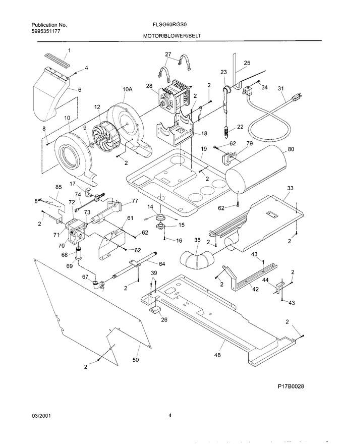 Diagram for FLSG60RGS0