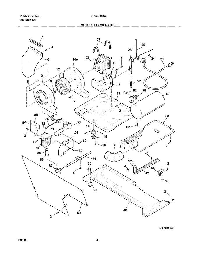 Diagram for FLSG60RGS2