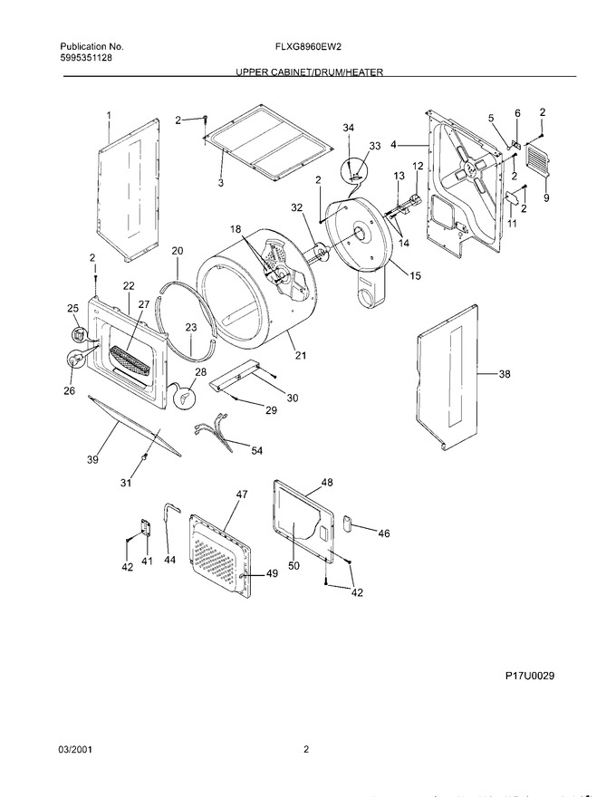 Diagram for FLXG8960EW2