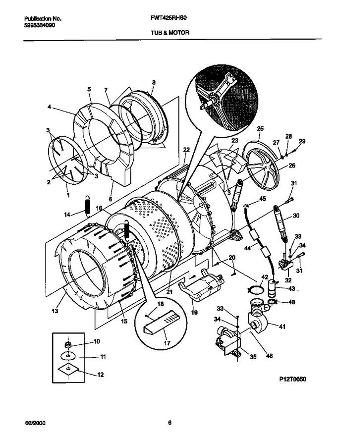 Diagram for FWT425RHS0