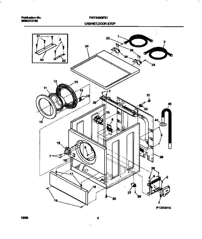 Diagram for FWT449GFS1