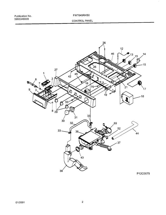 Diagram for FWT645RHS0