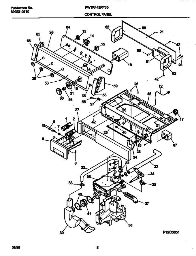 Diagram for FWTR445RFS0
