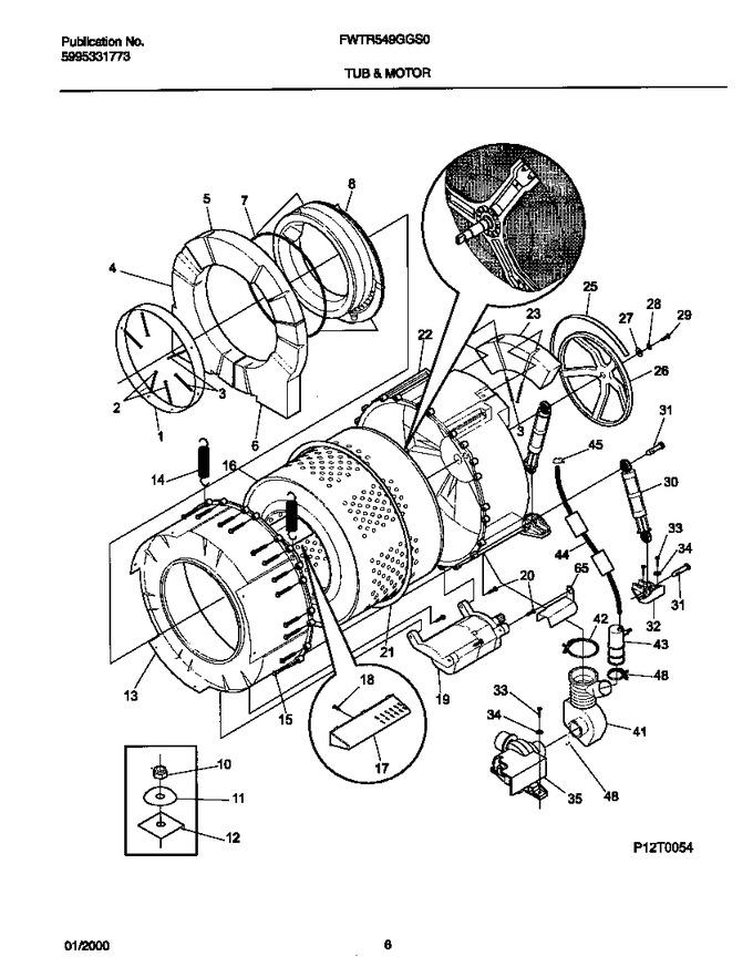 Diagram for FWTR549GG