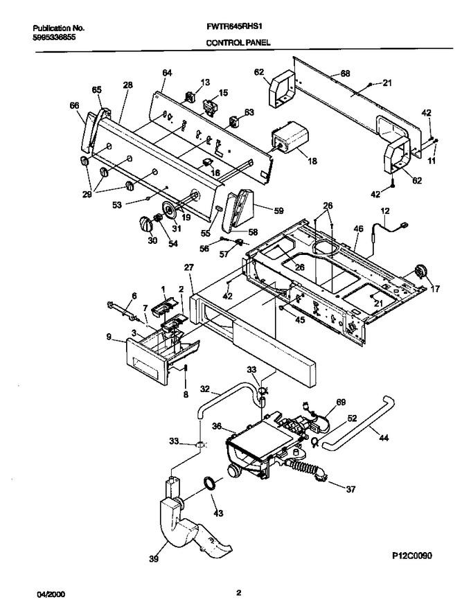 Diagram for FWTR645RHS1