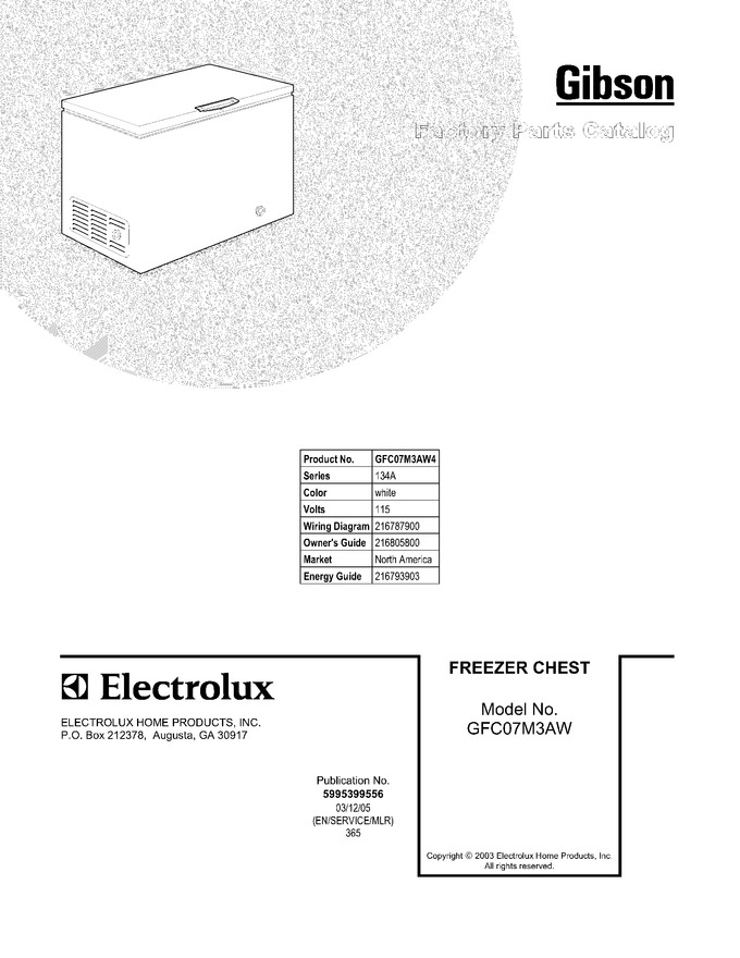Diagram for GFC07M3AW4