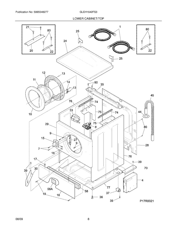 Diagram for GLEH1642FS3