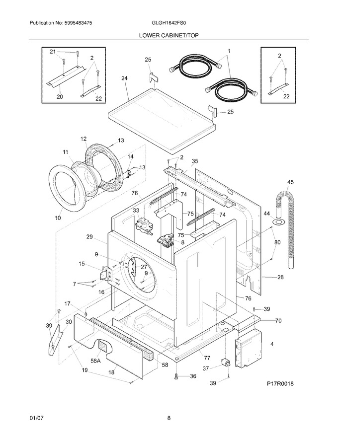 Diagram for GLGH1642FS0