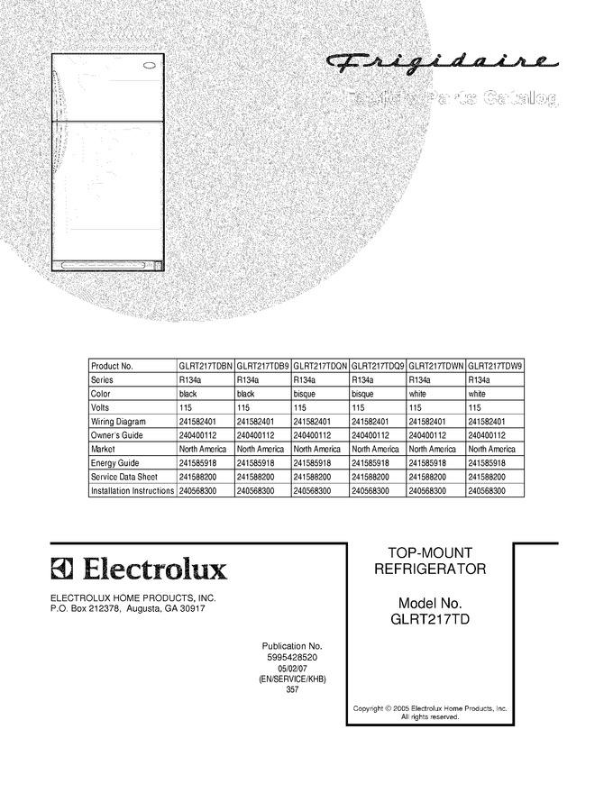 Diagram for GLRT217TDB9
