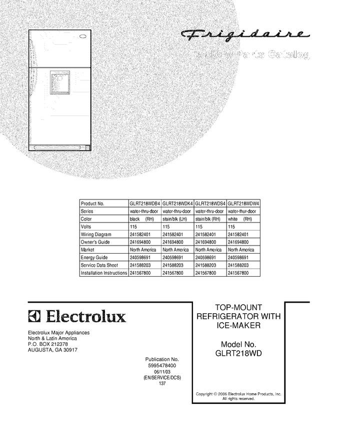 Diagram for GLRT218WDB4