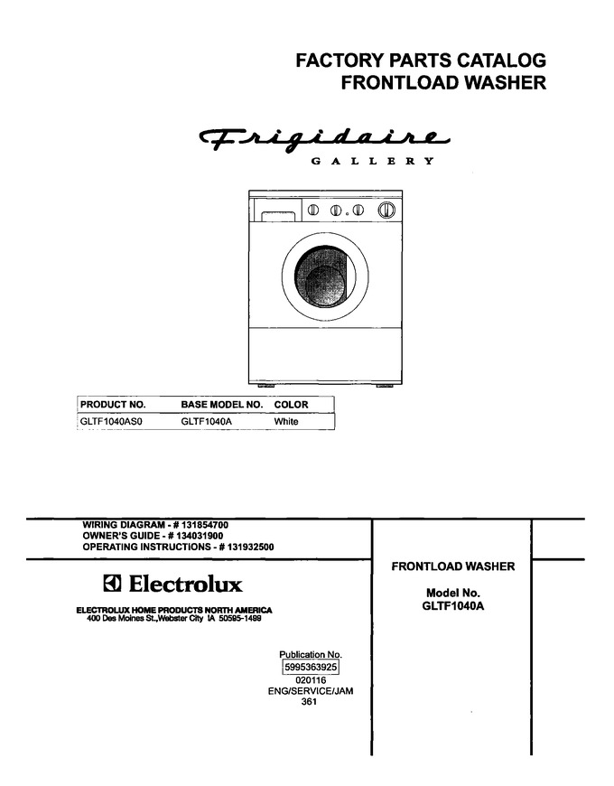 Diagram for GLTF1040AS0