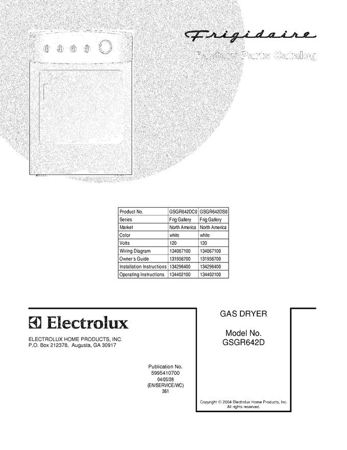 Diagram for GSGR642DC0