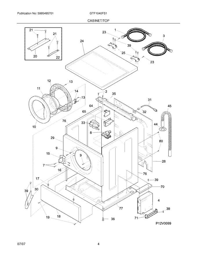 Diagram for GTF1040FS1