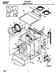 Diagram for 03 - Washer Cabinet,door