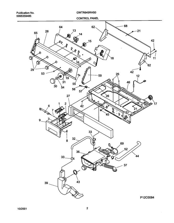 Diagram for GWTR645RHS0