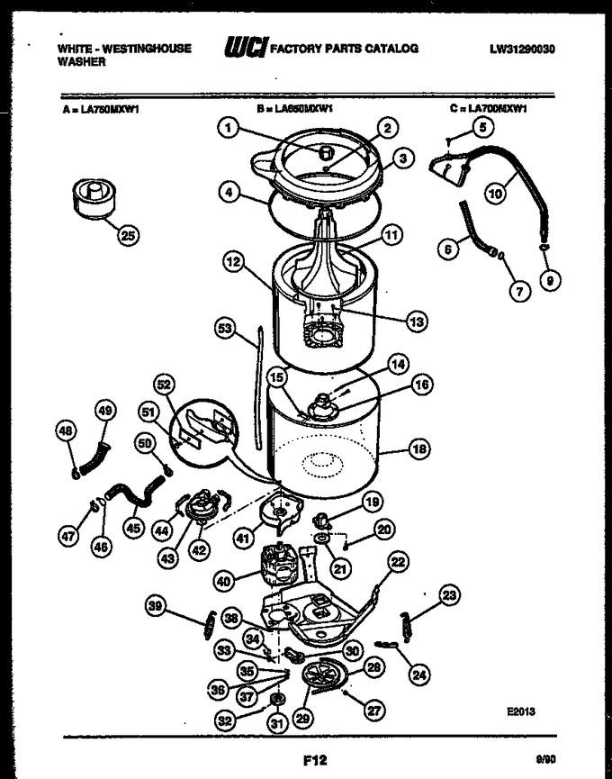 Diagram for LA650MXD1
