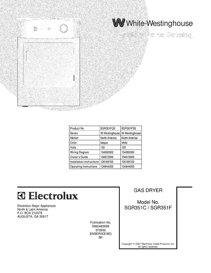 Diagram for SGR351FQ0