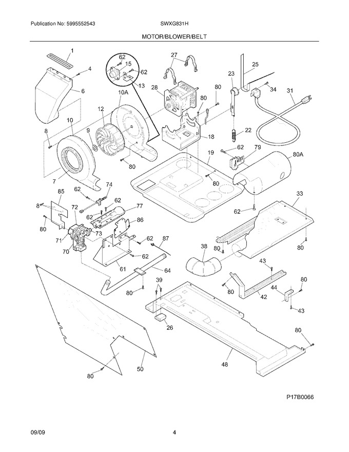 Diagram for SWXG831HS4