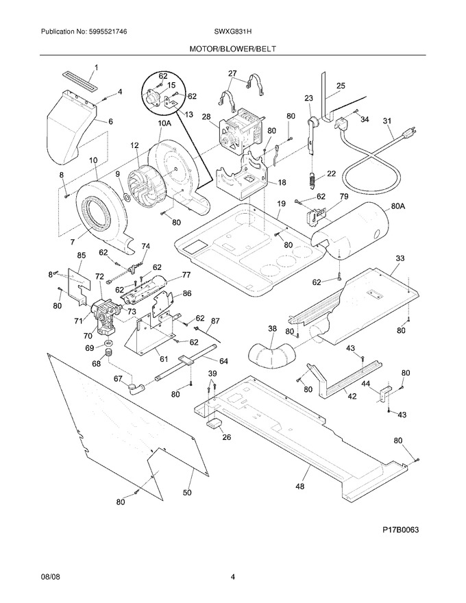 Diagram for SWXG831HS1
