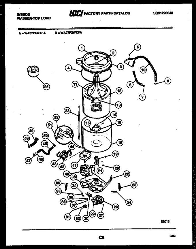 Diagram for WA27F4WXFA
