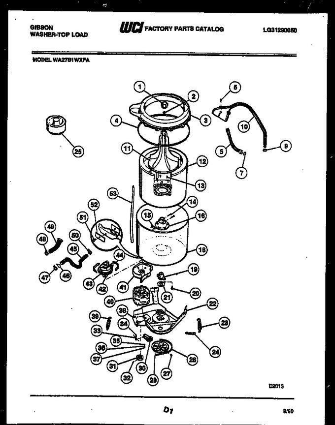Diagram for WA27S1WXFA