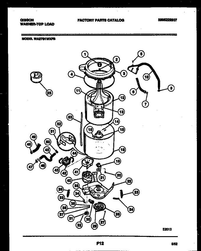 Diagram for WA27S1WXFB