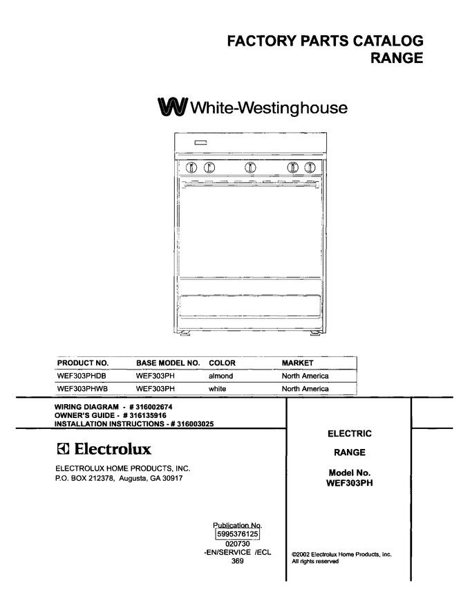 Diagram for WEF303PHDB