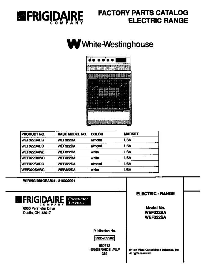 Diagram for WEF322SAWC