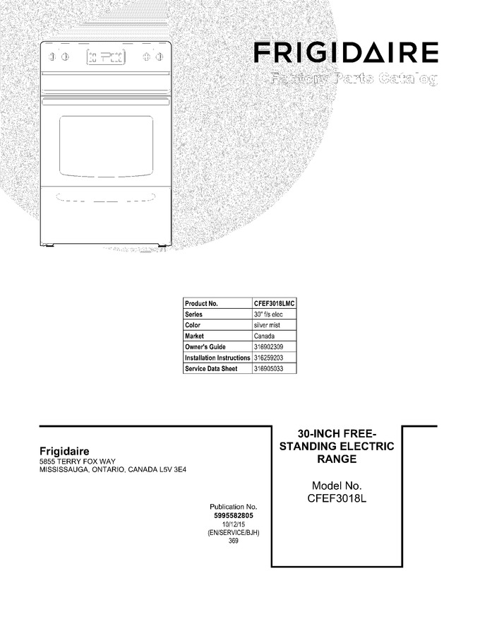 Diagram for CFEF3018LMC