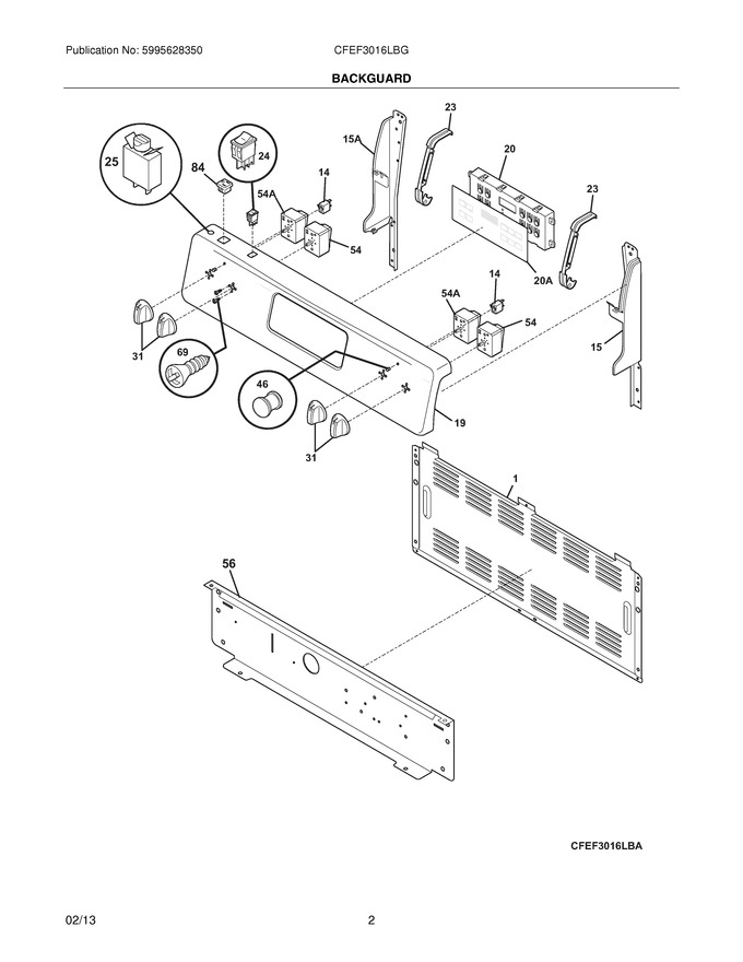 Diagram for CFEF3016LBG