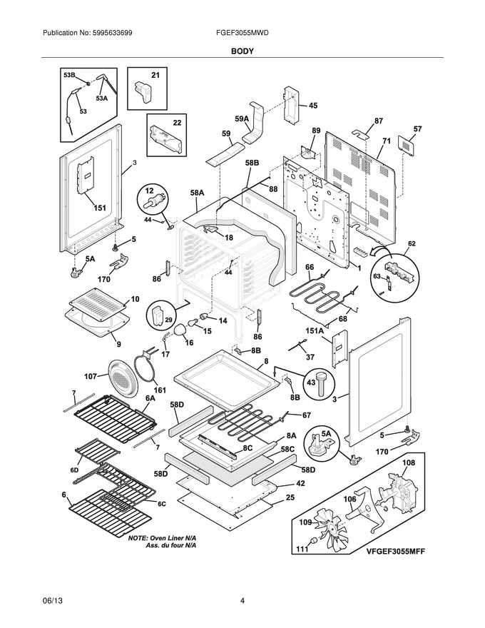 Diagram for FGEF3055MWD