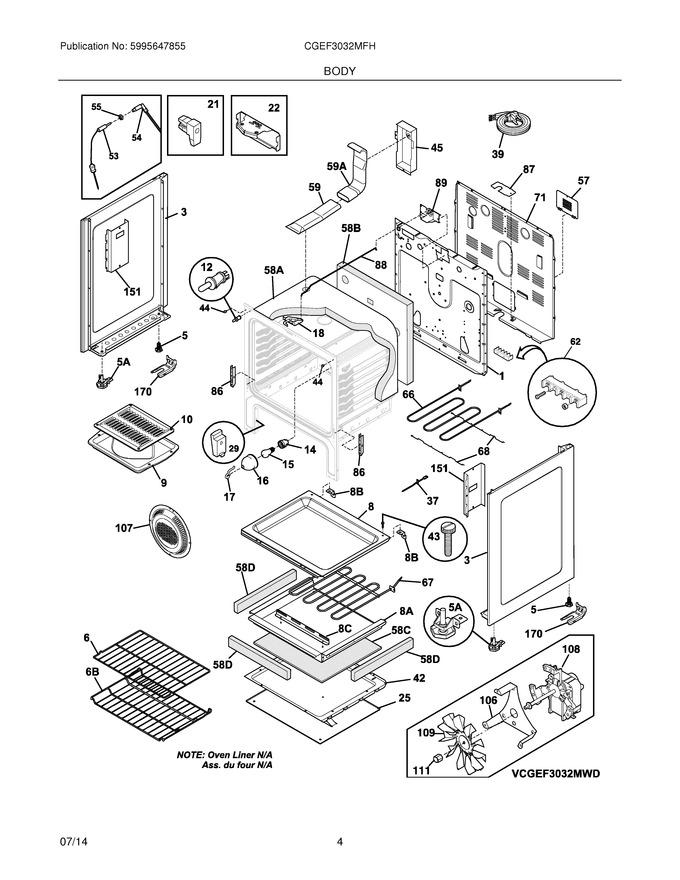 Diagram for CGEF3032MFH