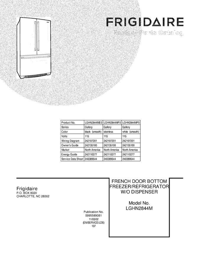 Diagram for LGHN2844MF0